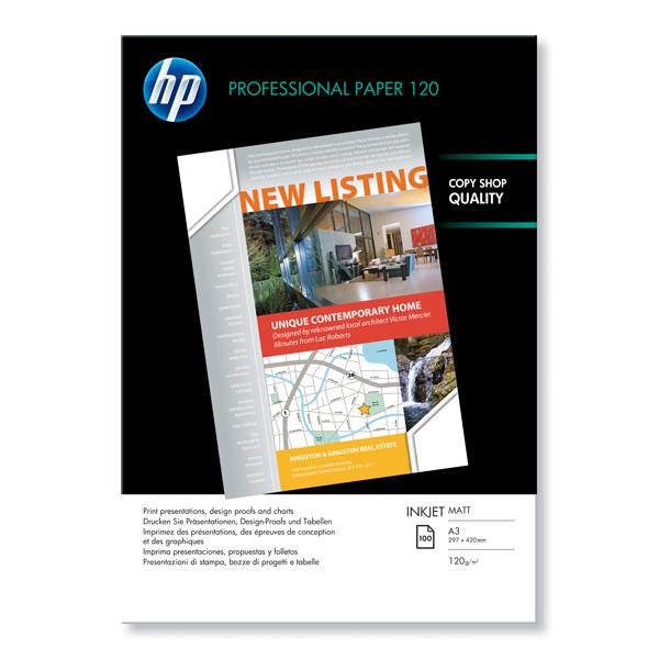 Risma carta professionale per Inkjet  - opaca - A3 - 100fg - 120g - HP