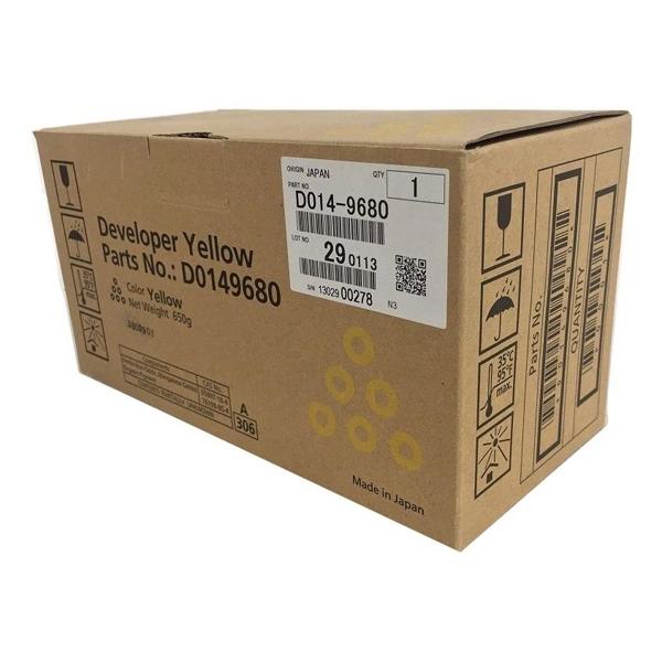 Ricoh - developer - D0149680 - giallo aficio mp c6000sp c7500sp type c7500