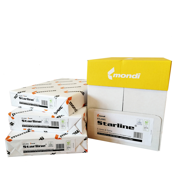 Carta fotocopie - A4 - 80 gr - bianco - Starline - conf. 500 fogli
