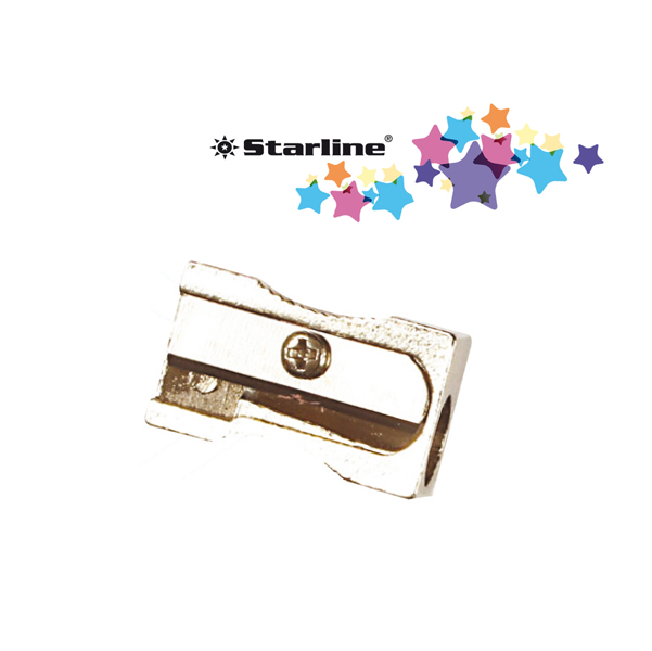 Temperamatite senza contenitore - 1 foro - in metallo - Starline